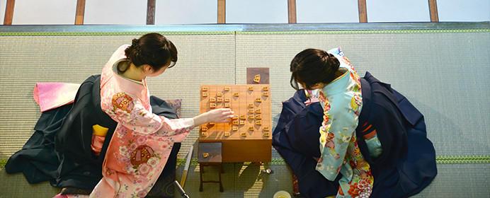 渡部女流初段と塚田女流2級が着物で対局。第10回世田谷花みず木女流オープン戦のご紹介