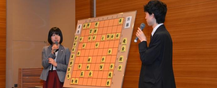 山口絵美菜女流1級が考える、大盤解説の聞き手に大切なこととは。女流棋士の仕事、知っていますか?