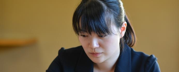 上田初美女流三段インタビュー。一児のママとして挑む女流名人戦、その意気込みとは?