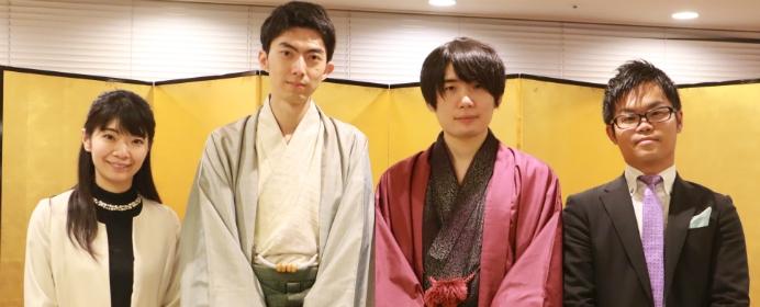 歌舞伎の聖地で佐藤名人と中村七段が激突。トークショーでは普段聞けない質問も?「第5回 歌舞伎の聖地で夢の対局」をご紹介!