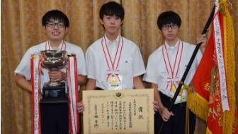 個人戦は1年生が優勝!団体戦は優勝候補同士の決勝戦に。混戦ぞろいの高校選手権・男子の部をご紹介します