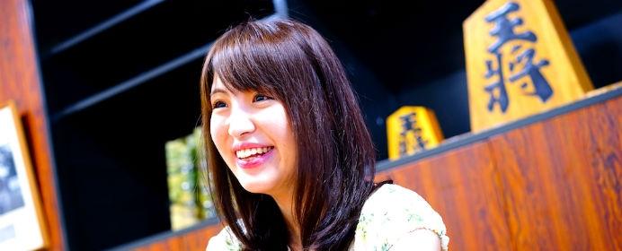 「将棋と勉強、どっちが好き?」山口恵梨子女流二段が悩んだ時に思い出すある棋士の言葉【女流棋士とデザート】