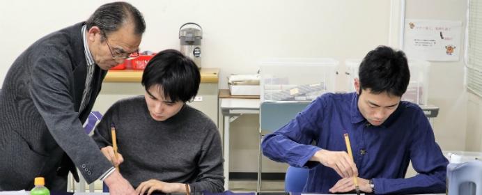 将棋連盟書道部に潜入インタビュー!プロ棋士はどうやって揮毫を選んでいるのか聞いてみた