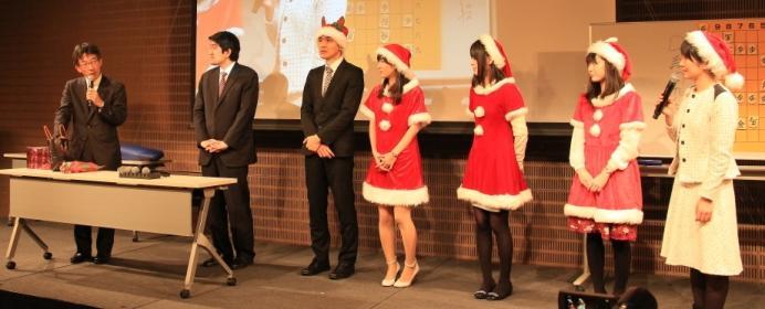 棋士がサンタの格好でお出迎え?!ファン感謝イベントのクリスマスフェスタが面白すぎる