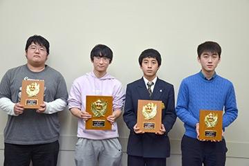 第32回オール学生個人戦入賞者