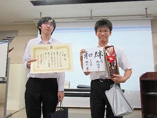 C-1級優勝の早稲田高等学校チーム
