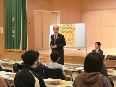 三宅島島民ふれあい将棋交流講習会_02