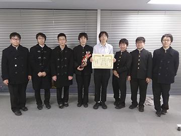 B級優勝_早稲田中学校