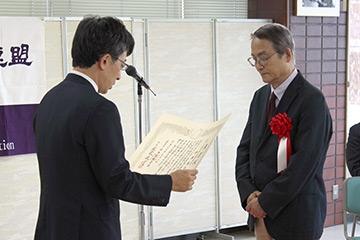 第24回大山康晴賞授賞式の模様_04