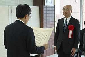 第24回大山康晴賞授賞式の模様_05
