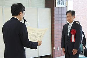 第24回大山康晴賞授賞式の模様_06