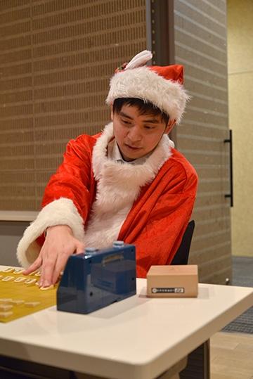 クリスマスフェスタ2017 20秒対決 斎藤明日斗四段