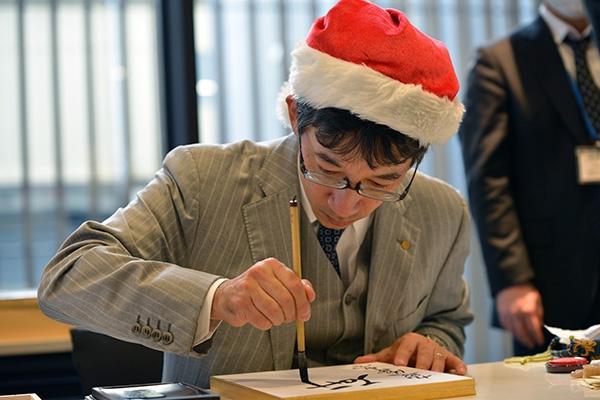クリスマスフェスタ2017 サイン会での佐藤九段