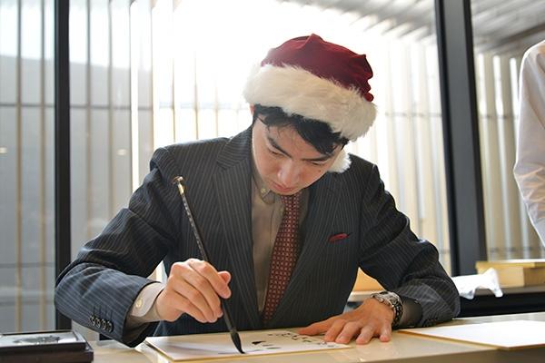 クリスマスフェスタ2017 サイン会での中村王座