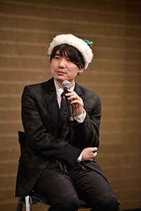 クリスマスフェスタ2017 トークショーでの佐藤名人