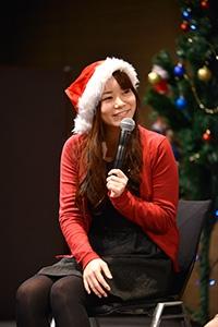 クリスマスフェスタ2017 トークショーでの藤田女流二段