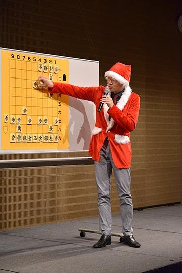 クリスマスフェスタ2017 長岡五段の大盤講座