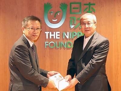 日本財団へ寄付