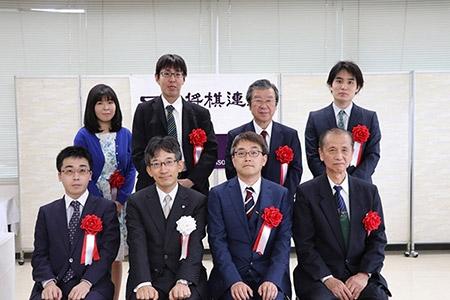 第45回将棋大賞表彰式・昇段者免状授与式の模様_01