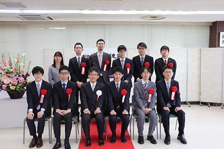 第45回将棋大賞表彰式・昇段者免状授与式の模様_02