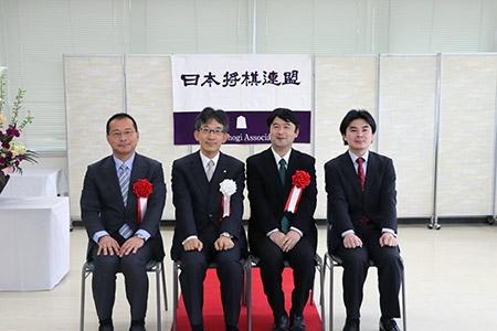 第45回将棋大賞表彰式・昇段者免状授与式の模様_03