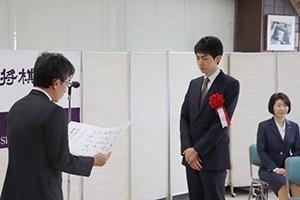 第45回将棋大賞表彰式・昇段者免状授与式の模様_09