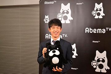第1回AbemaTVトーナメント覇者・藤井聡太七段