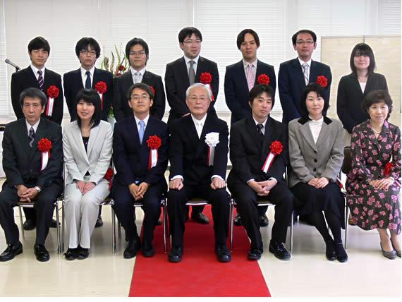 第37回将棋大賞表彰式・昇段者免...
