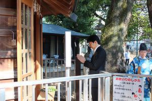 2016年将棋堂祈願祭と指し初め式_02