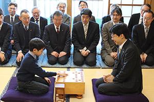 2016年将棋堂祈願祭と指し初め式_05