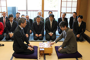 2016年将棋堂祈願祭と指し初め式_07