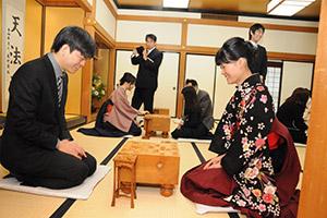 2016年将棋堂祈願祭と指し初め式_09
