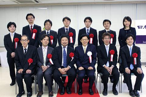 第41回将棋大賞表彰式・昇段者免...