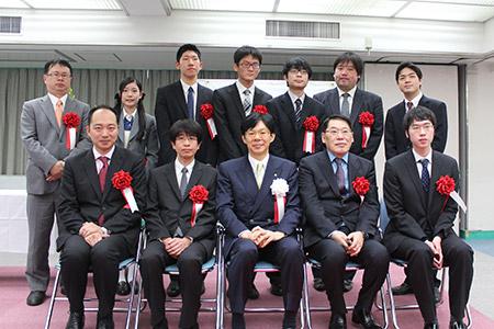 第43回将棋大賞表彰式・昇段者免...