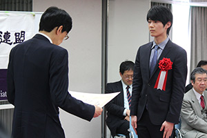 第43回将棋大賞表彰式・免状授与式_08