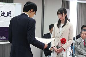 第43回将棋大賞表彰式・免状授与式_09