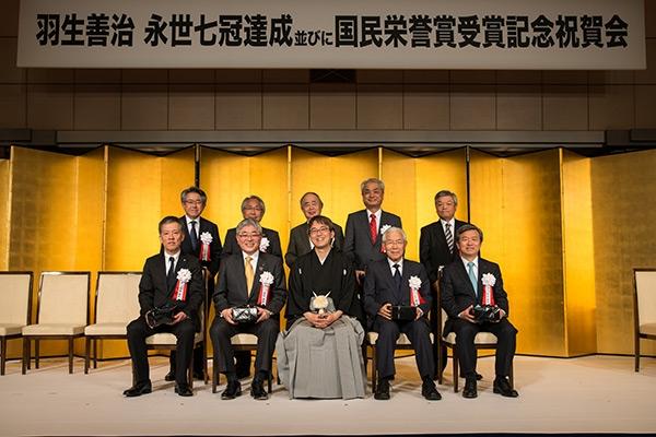 羽生善治永世七冠達成並びに国民栄誉賞受賞記念祝賀会_01