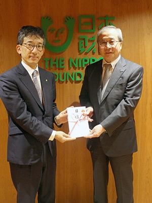 北海道胆振東部地震の寄付金を日本財団へ寄付
