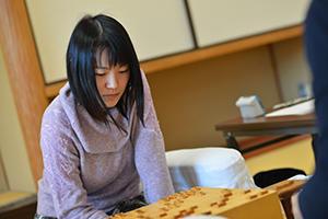 第43期女流名人戦挑戦者となった上田初美女流三段