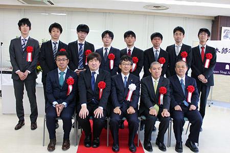 第44回将棋大賞表彰式・昇段者免状授与式_02