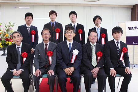 第44回将棋大賞表彰式・昇段者免状授与式_03