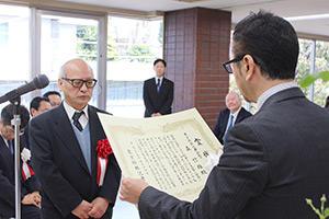 第44回将棋大賞表彰式・昇段者免状授与式_08
