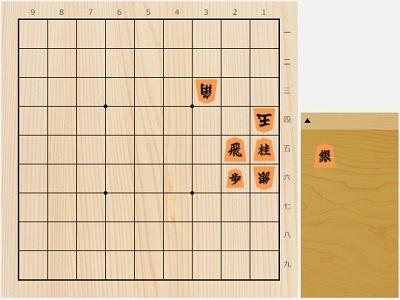 2017年7月5日の詰将棋(7手詰)