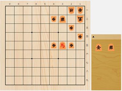 2017年7月19日の詰将棋(7手詰)