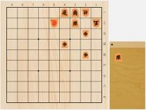 2017年8月16日の詰将棋(7手詰)