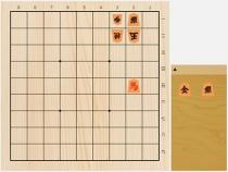 2018年5月26日の詰将棋(安西勝一作、9手詰)