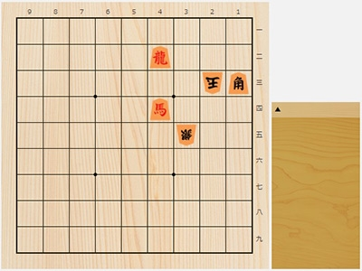 2018年6月21日の詰将棋(3手詰)
