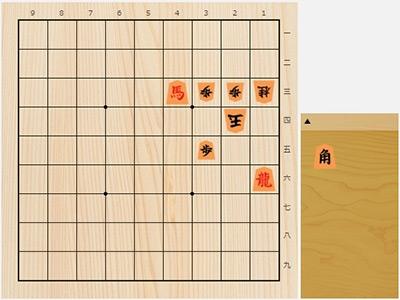 2018年8月2日の詰将棋(3手詰)