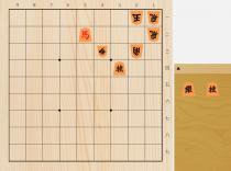 2018年7月6日のマイナビ詰将棋(5手詰)