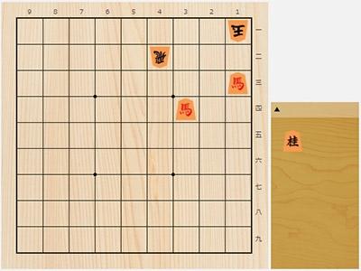 2018年8月28日の詰将棋(5手詰)